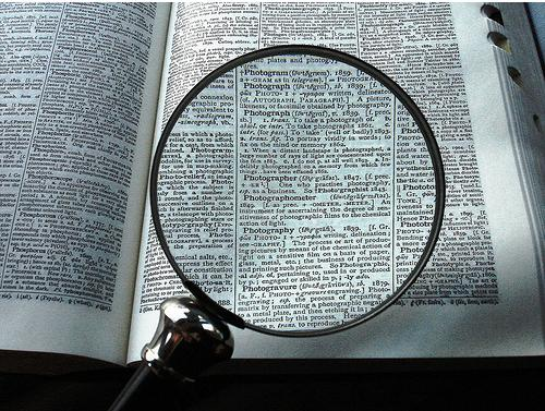 magnifying glass Writing Tip #2:  ly and ing words